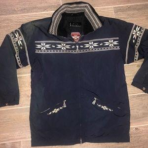 Vintage 90's BOGNER Embroidered Ski Jacket USA 10